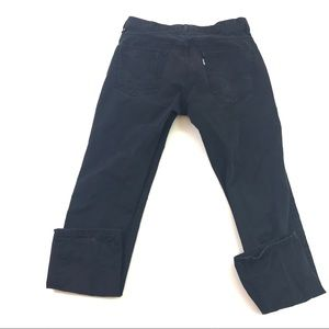 Levi's Men's Black Skinny Jeans 33